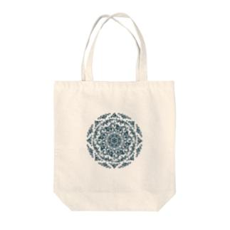 曼荼羅-izayoi line Tote bags