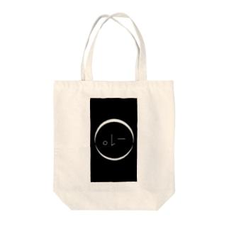 ウインク−1° Tote bags