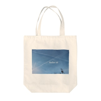 Atelier 16のパリ空トートバッグ Tote bags