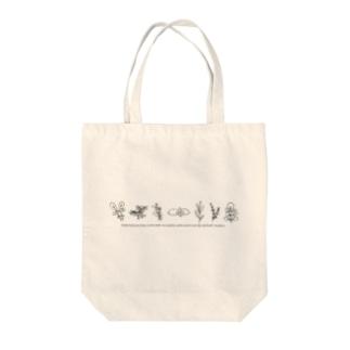 ハーブ Tote bags