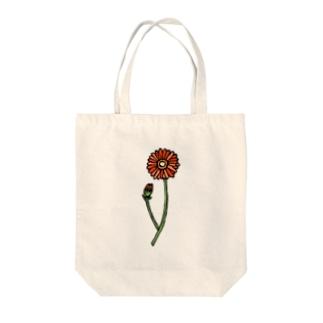 ガーベラ🌼オレンジ Tote bags
