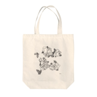 Flower Power Tote bags