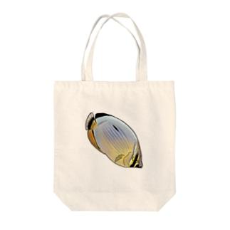 メロンバタフライフィッシュ Tote bags