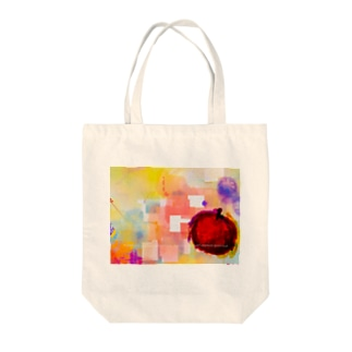 アップル Tote bags