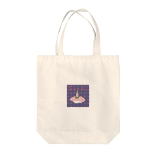 sushi girl Tote bags