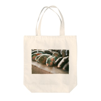 SASHIMI Tote bags
