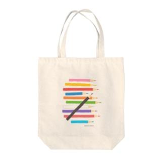 色鉛筆01 Tote bags
