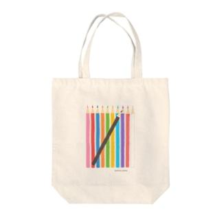 色鉛筆02 Tote bags