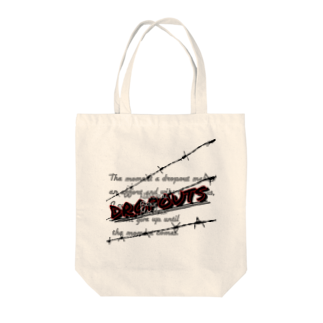 DROPOUTSの天才に勝つ瞬間 Tote bags