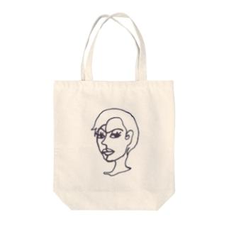miya_kiのMR.レディ Tote bags