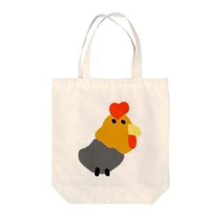 へんないきもの園のチャボ オス鳥  Tote bags