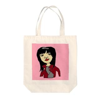 アイドル Tote bags