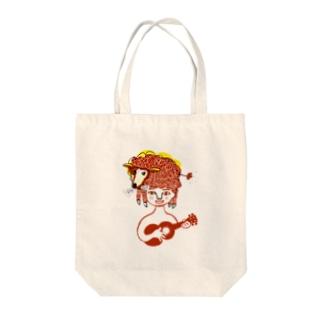 ひつじ雲 Tote bags