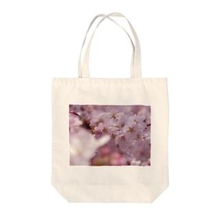 hiroki-naraの桜 サクラ cherry blossom DATA_P_091 Tote bags