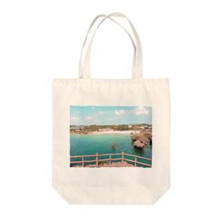 過去の旅行でのこと Tote bags