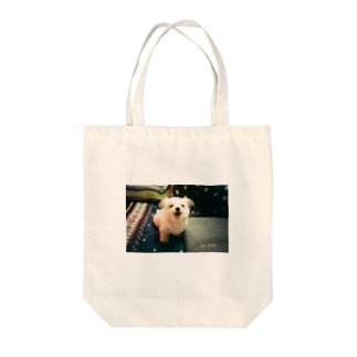 熊吉 あくび Tote bags