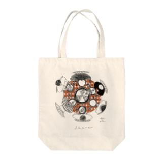 share(coffeebrown) Tote bags