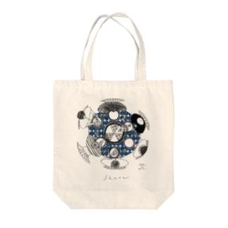 share(coffeeblue) Tote bags