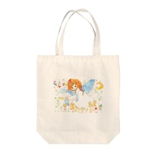 くじらの夢 Tote bags