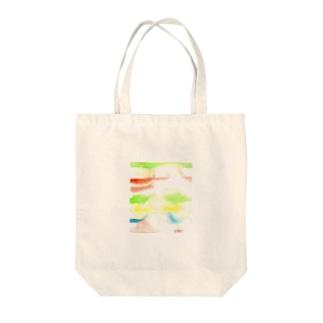 虹のはじまりを探しにいこうか Tote bags
