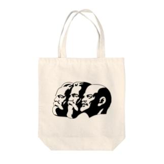 Communist Tote bags