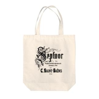 Saint-Saëns / Septuor Tote bags