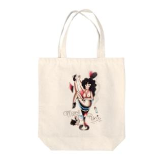 oldschool tattoo風 女の子★ Tote bags