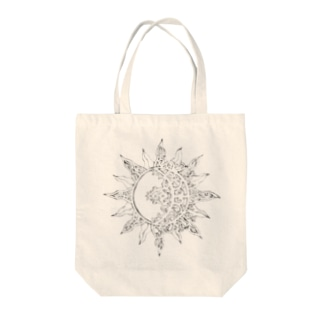 SUN&MOON 太陽と月 エスニック★ Tote bags