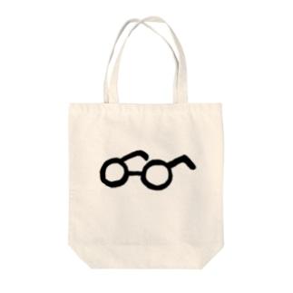 ONIKÜ めがね Tote bags