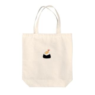 天むす てんむす Tote bags