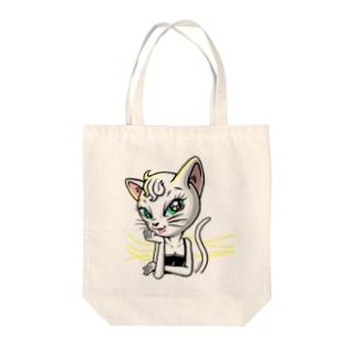 セクシーネコちゃん Tote bags