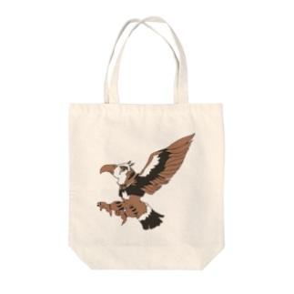 イチカワシくん Tote bags