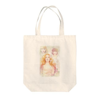 女神たちの集い Tote bags