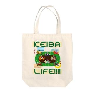 KEIBA LIFE!!!! Tote bags