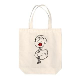 モンロー Tote bags