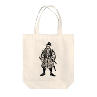 天下無双・宮本武蔵 Tote bags