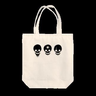 higotoraのWILD CAFE賊旗 Tote bags