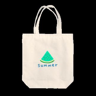 Inarinのスイカチョコミントsummer  Tote bags