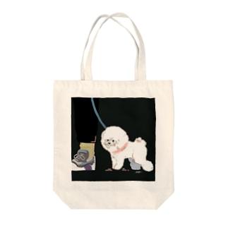 夜のビション Tote Bag