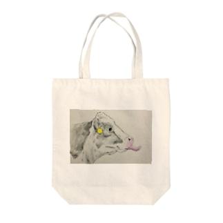 ペロリン牛 Tote Bag