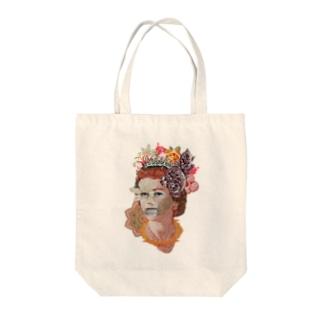 Money Queen Tote bags