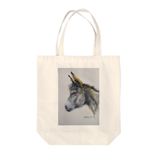 永久凍土の国の白夜のまるでウサギ! Tote bags
