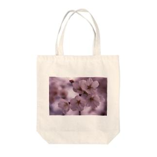 桜 サクラ cherry blossom DATA_P_092 Tote bags