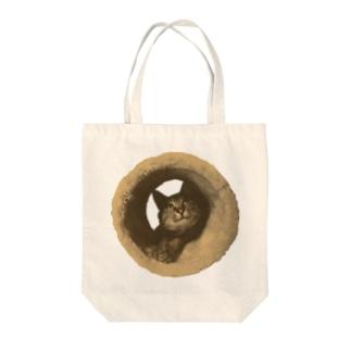遠目で見たらドーナツ Tote bags