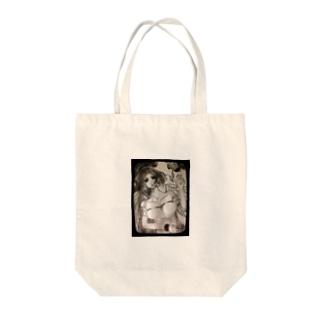 沈黙の天使 Tote bags