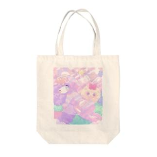♡call me♡ Tote bags