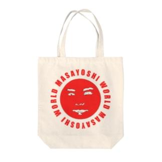 MASAYOSHI WORLD Tote bags