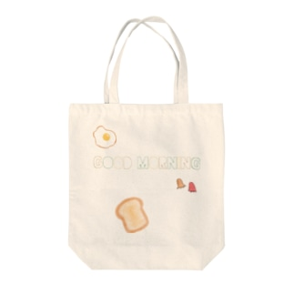 GOOD MORNING 🍳 Tote bags