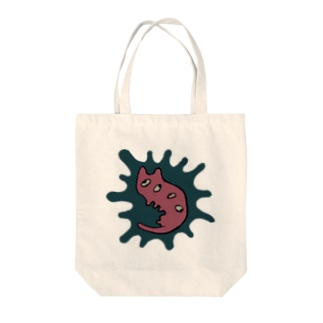 きゃとぴい Tote bags