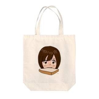 トースト少女 Tote bags